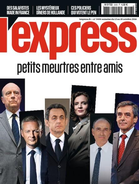 L'Express - Octobre 2016 - Petits meurtres entre amis