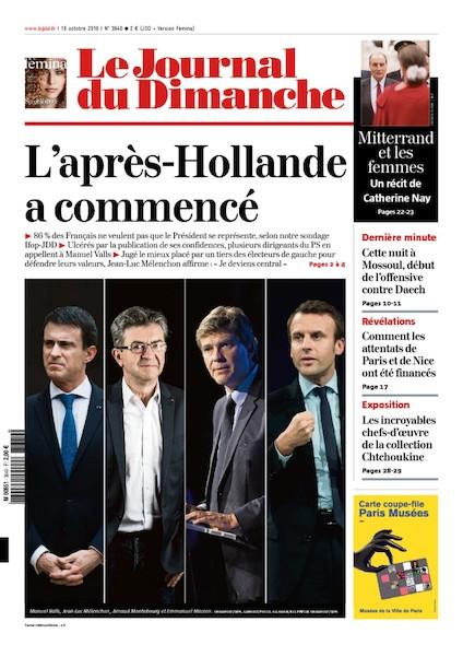 Journal du Dimanche - 16 Octobre 2016