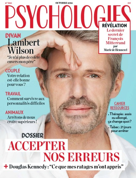 Psychologies Magazine - Octobre 2016