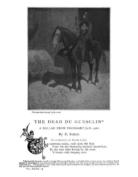 The Dead Du Guesclin