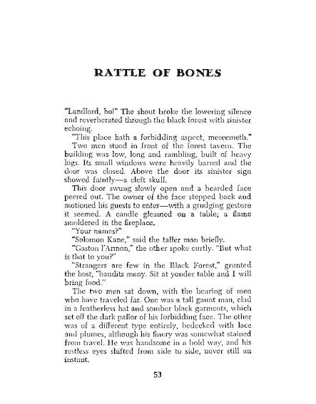 Rattle Of Bones - 2