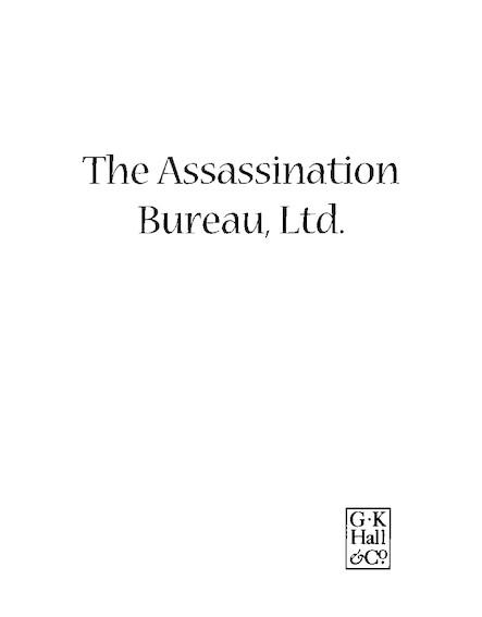 The Assassination Bureau Ltd.