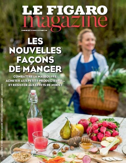 Le Figaro Magazine - Octobre 2016 : Les nouvelles façons de manger