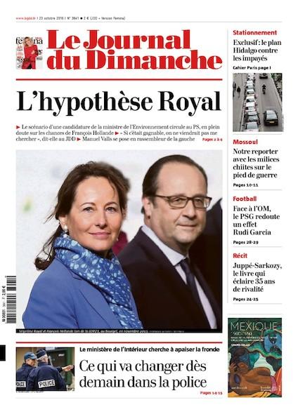 Journal du Dimanche - 23 Octobre 2016