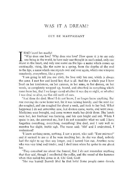 Was It A Dream? - 2