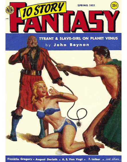 Tyrant And Slave-Girl On Planet Venus