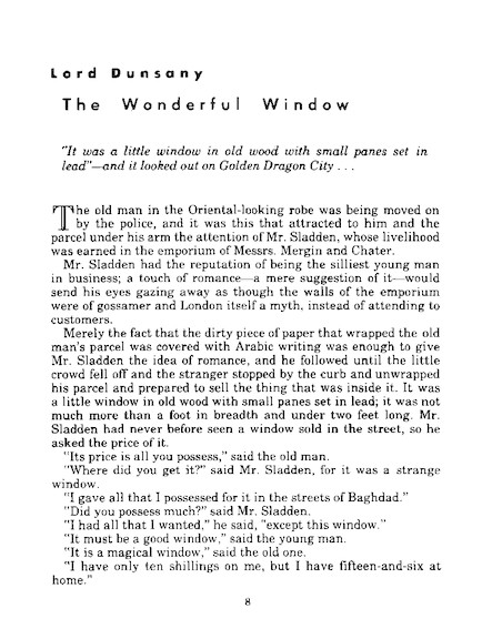 The Wonderful Window - 3