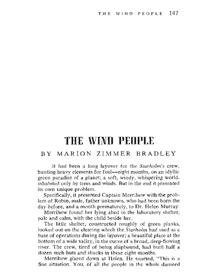 The Wind People