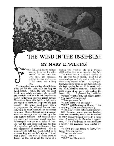 The Wind in the Rose-Bush