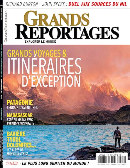 Grands reportages - Novembre 2016