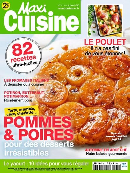 Maxi | Octobre 2016 | Cuisine N°111