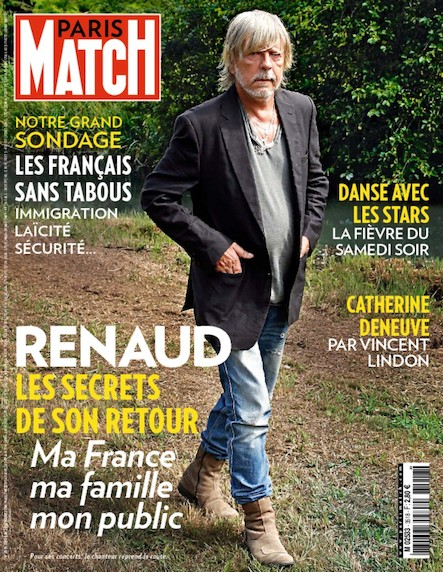 Paris Match N°3518 Octobre 2016