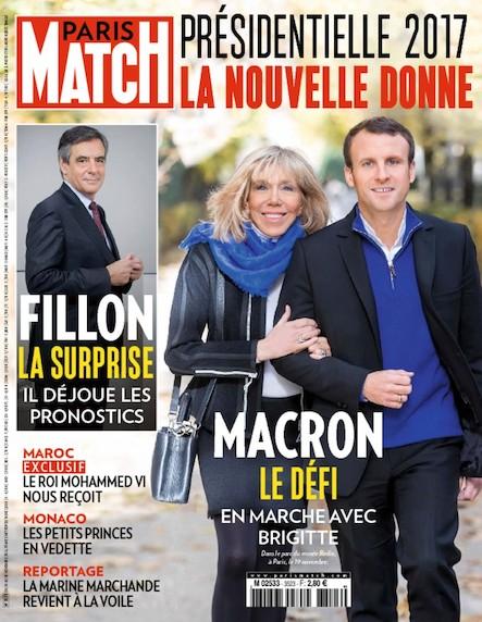 Paris Match N°3523 Novembre 2016