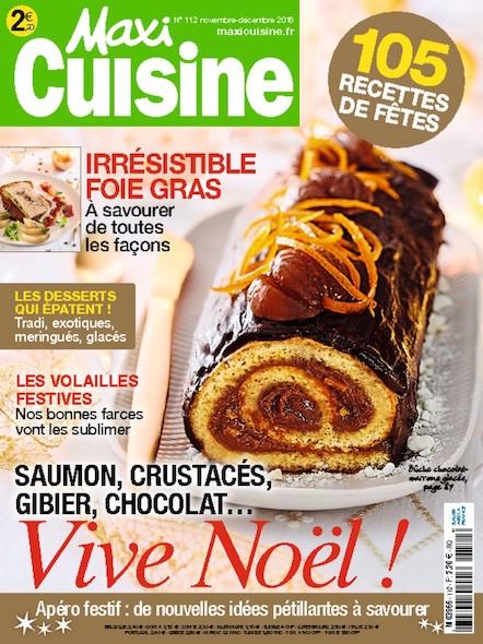 Maxi Cuisine | Novembre 2016 | N°112