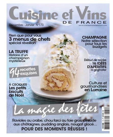 Cuisine et Vins - Décembre/Janvier 2017
