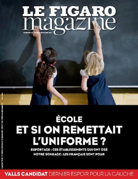 Le Figaro Magazine - Ecole : et si on remettait l'uniforme ?