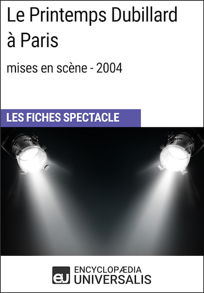 Le Printemps Dubillard à Paris (mises en scène - 2004)