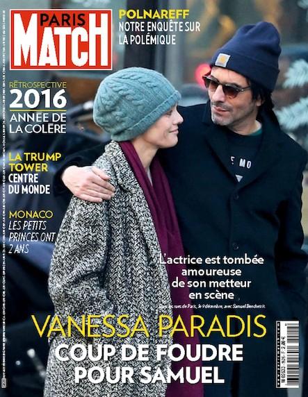 Paris Match N°3525 Décembre 2016