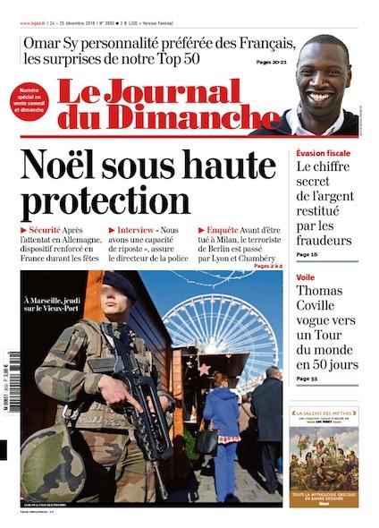 Journal du Dimanche - 24 Décembre 2016