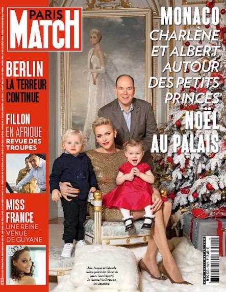 Paris Match N°3527 Décembre 2016