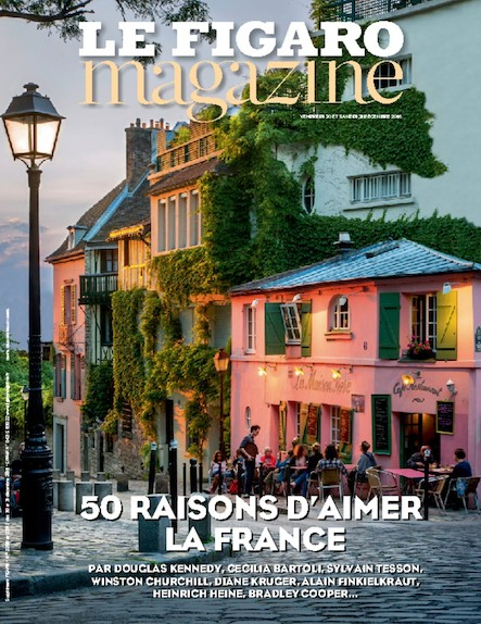 Le Figaro Magazine - Décembre 2016 : 50 raisons d'aimer la france