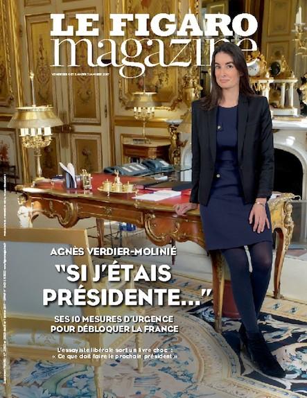 """Le Figaro Magazine - Janvier 2017 : """"Si j'étais présidente..."""""""