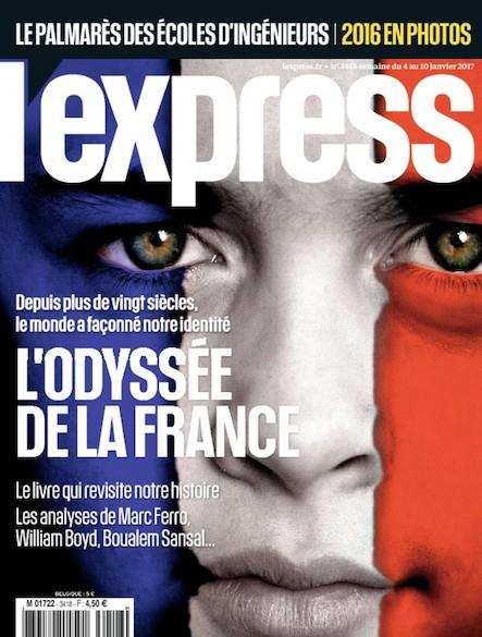 L'express - Janvier 2017 - L'odyssée de la France
