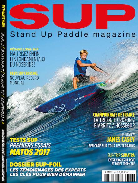 Stand Up Paddle - Janvier/Février/Mars 2017