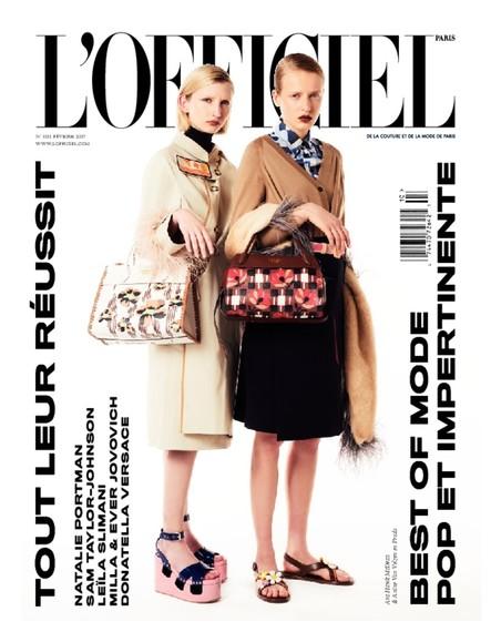 L'Officiel Mode et Couture - N°1011 - Janvier 2017