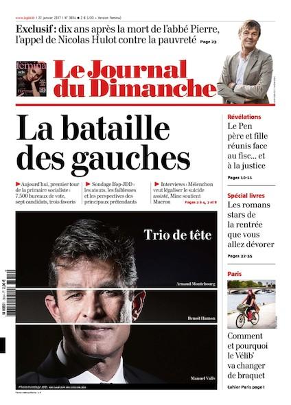 Journal du Dimanche - 22 Janvier 2017