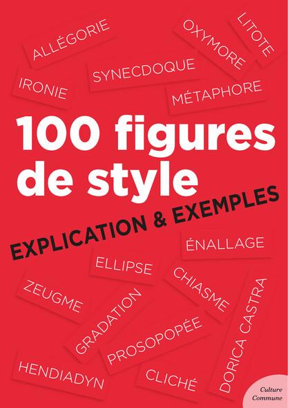 100 figures de style : Explication et Exemples