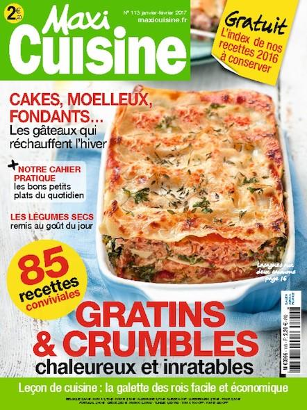 Maxi Cuisine | Janvier 2017 | N°113