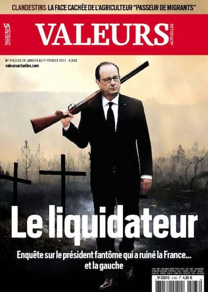 Valeurs Actuelles - Janvier 2017 - Le Liquidateur