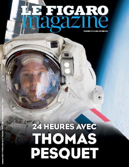 Le Figaro Magazine - 24 Heures Avec Thomas Pesquet