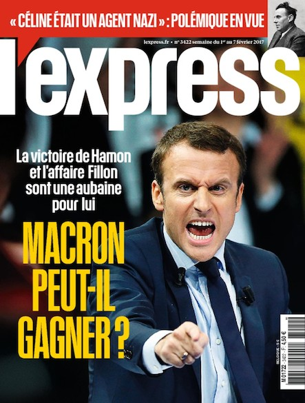 L'Express - Février 2017 - Macron peut-Il Gagner ?