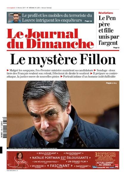 Journal du Dimanche - 5 Février 2017