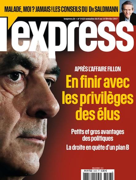 L'Express - Février 2017 - En finir avec les privilèges des élus