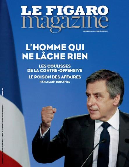 Le Figaro Magazine - L'homme qui ne lâche rien