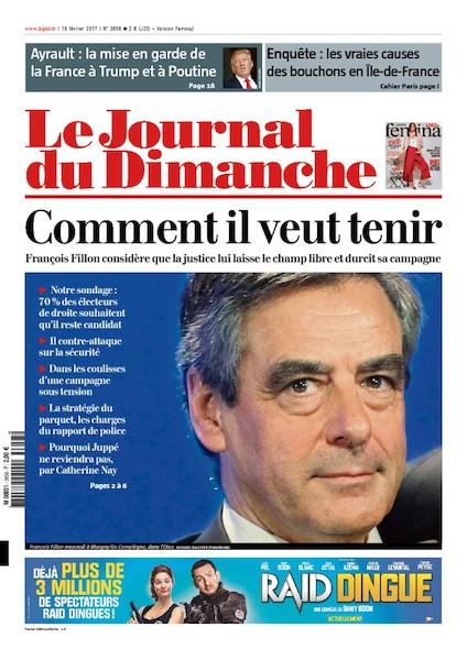 Journal du Dimanche - 19 Février 2017