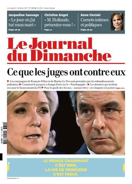 Journal du Dimanche - 26 Février 2017