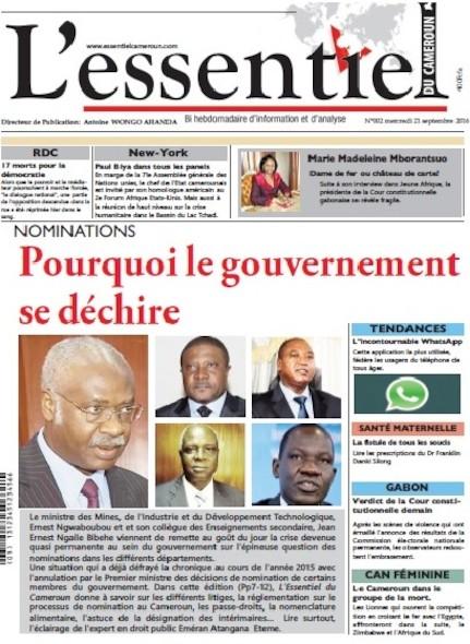 L'essentiel du Cameroun - Numéro 002
