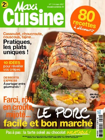 Maxi Cuisine | Février 2017 | N°114