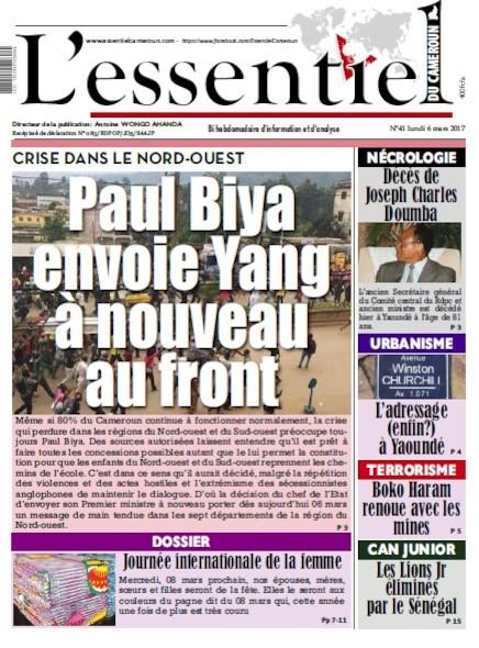 L'essentiel du Cameroun - Numéro 041