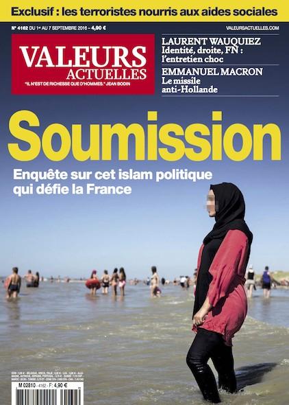 Valeurs Actuelles - Septembre 2016 - Soumission