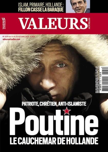Valeurs Actuelles - Octobre 2016 - Poutine