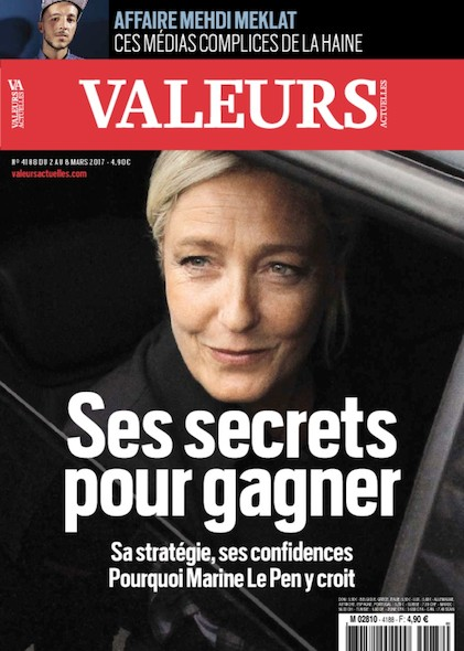 Valeurs Actuelles - Mars 2017 - Ses secrets pour gagner