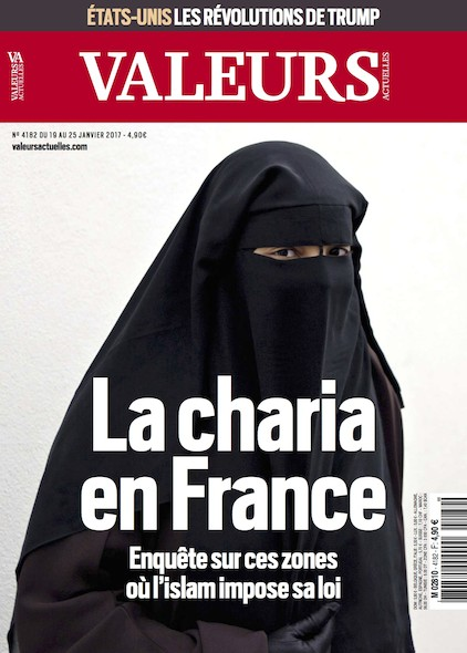 Valeurs Actuelles - Janvier 2016 - La charia en France