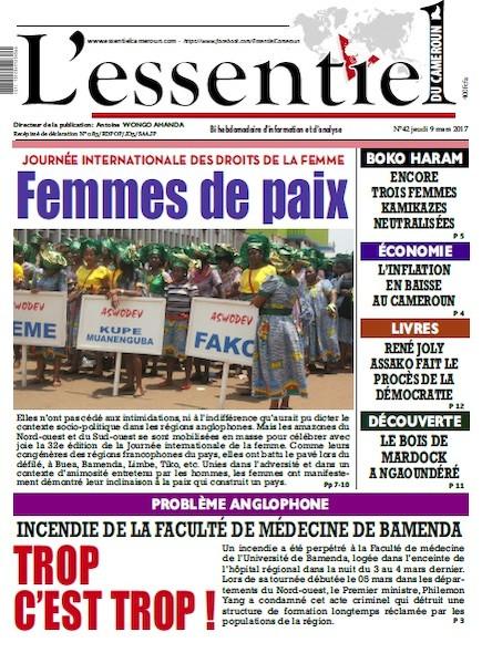 L'essentiel du Cameroun - Numéro 042