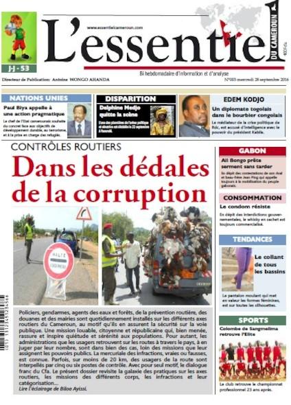 L'essentiel du Cameroun - Numéro 003