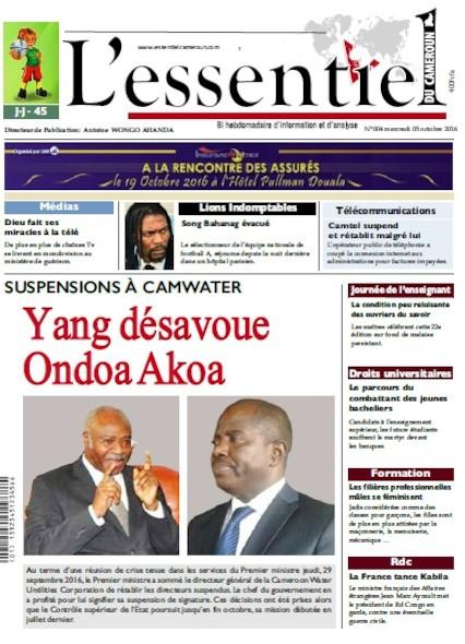 L'essentiel du Cameroun - Numéro 004